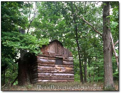 Boy Scout Log Cabin