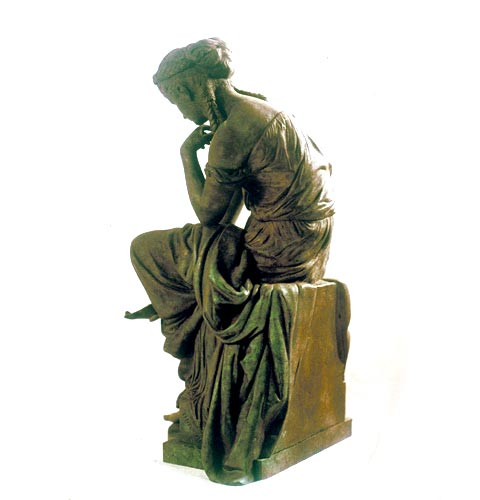 Bronze Sculpture Psyche ca. 1881