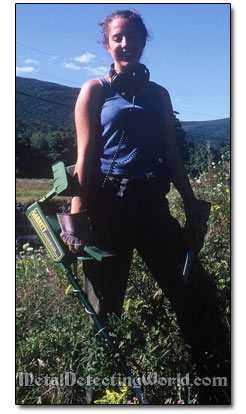 Rachael with Garret CX-II in Catskill Mountains