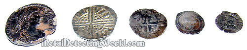 Roman Coin & Silver Hammereds Found with White's XLT