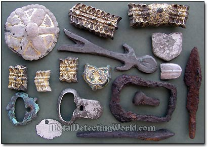 Medieval Relics Recovered with Garrett Ace 250
