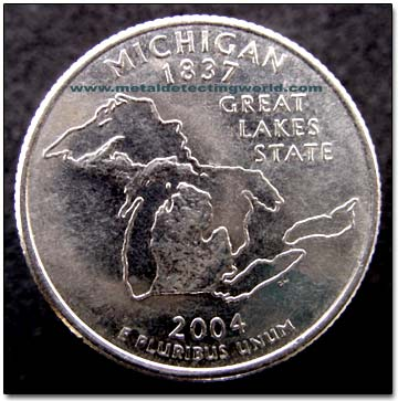 2004 Michigan State Quarter