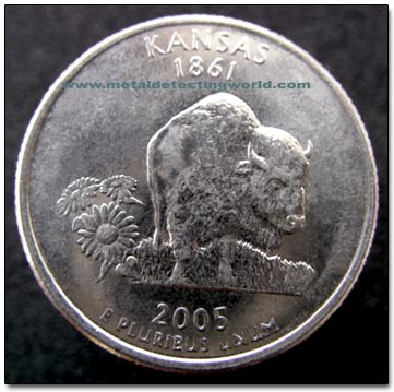 2005 Kansas Statehood Quarter