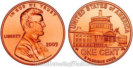 Abraham Lincoln Bicentennial Small Cent (Penny) 2009 - Washington, D.C.