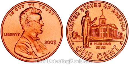 Abraham Lincoln Bicentennial Small Cent (Penny) 2009 - Illinois