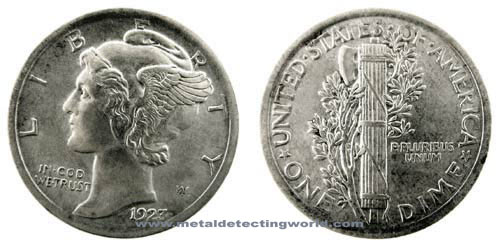 Mercury Dime - Winged Liberty Head