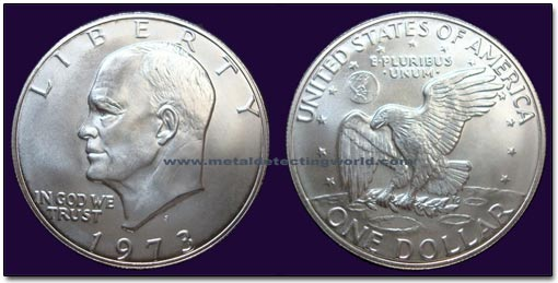 Usa Eisenhower Dollars