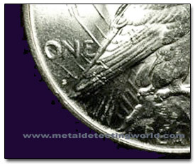 Mint Mark Location on Peace Dollar
