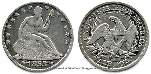 Half Dollar Seated Liberty Variety 2