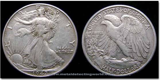 Half Dollar Walking Liberty
