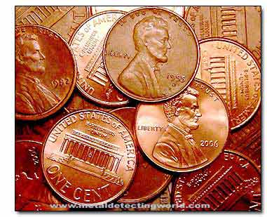 Lincoln Pennies Small Cents