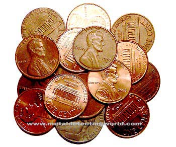 Lincoln Pennies and Nickel