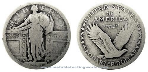 Standing Liberty Quarter variety 1