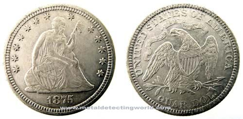 Liberty Seated Quarter Variety 4