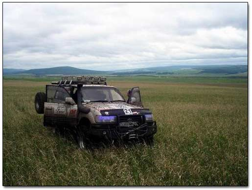Exploring Siberian Plains by Toyota Land Cruiser