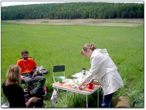 Picnicing in the Wide-Open
