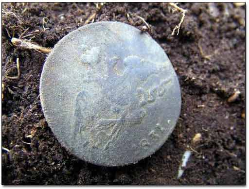 1831 1 Kopek Found with a Metal Detector