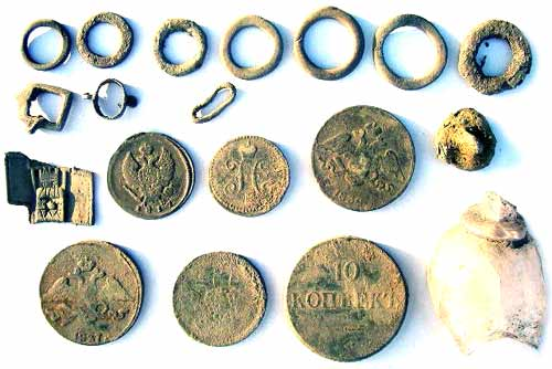 First Group of My Metal Detecting Finds Made At This Site