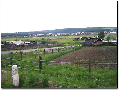 Village Sedovo in Siberia