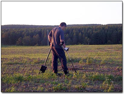 Vyacheslav is Metal Detecting