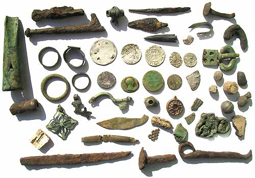 All Finds from the Market Site