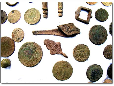 Coins and Relics