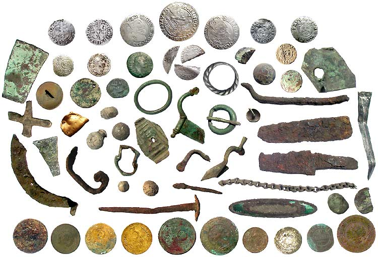 Metal Detecting Finds - Medieval Coins and Relics