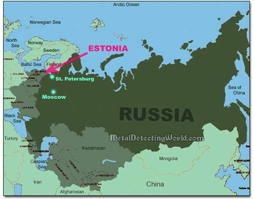 maps of europe and russia. General Map of Russia and