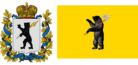 Coat of Arms and Flag of Yaroslavl