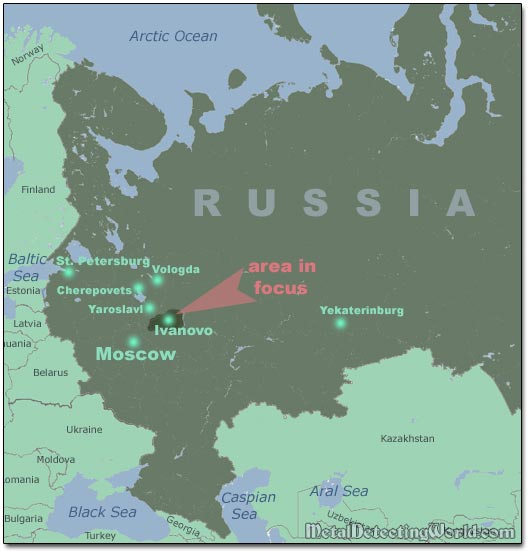 maps of europe and russia. Map of European Russia