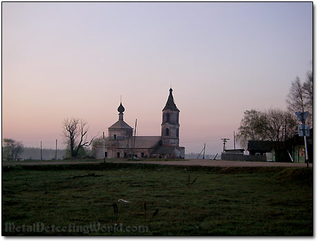 Another Russian Orthodox Church Abandoned