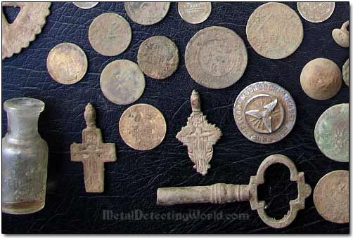 Some Interesting Metal Detecting Finds