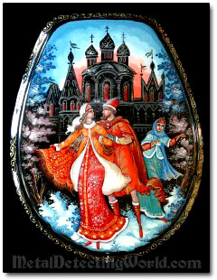 Palekh Lacquered Miniature