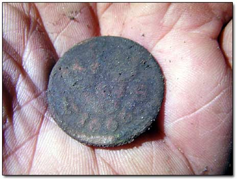 Another Swedish 1666 1/6 Ore Coin