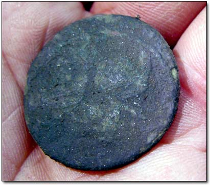 Large Copper Coin