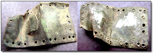 Thin Brass Belt Plate