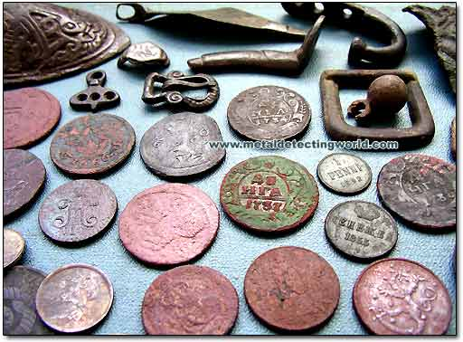 Metal Detecting Finds Up Close