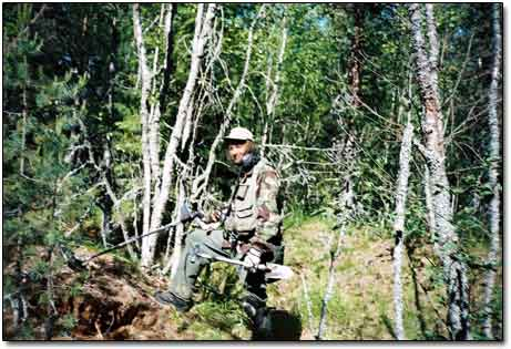 Metal Detecting on Karelian Isthmus Back in 2004