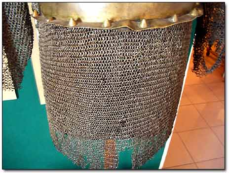 Chain Armour of Medieval Warrior