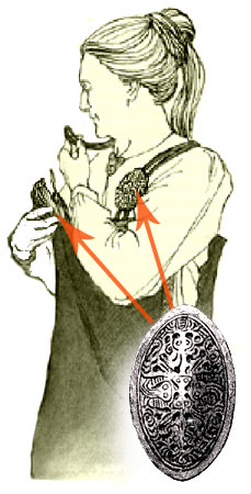 Use of Tortoise Fibulae for Fastening an Apron