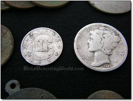 Two Silver Coin-Finds
