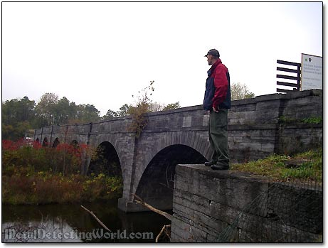 Visiting Schoharie Aqueduct Structure