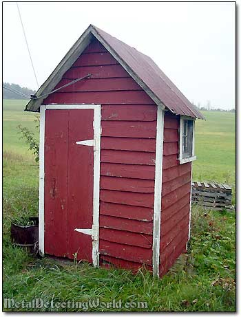 A 19th Century Outhouse
