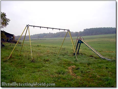 Swing Set and Slide for Kids