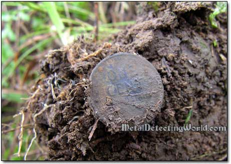 Wheat Penny Dug Out