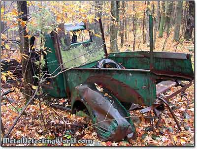 Abandoned 1930s Dodge Pick-Up Truck