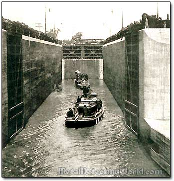 The Erie Canal Lock 1 in Waterford