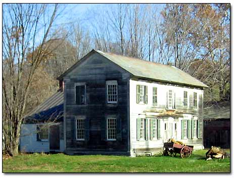 Colonial House in Upstate New York