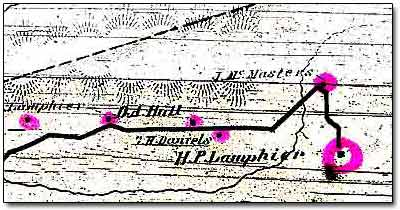 Fragment of 1875 Map