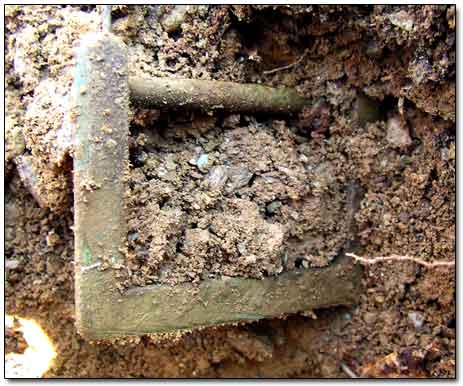 Recovery of Colonial Brass Buckle